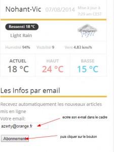 nohantvic.fr abonnement