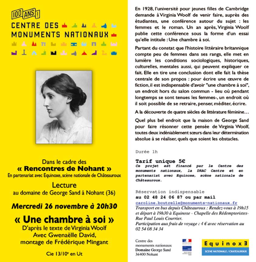 2014 11 26 lecture domaine george sand